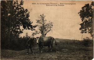 CPA Le Limousin Illustre - Nos Campagnes Retour a la Ferme (390665)