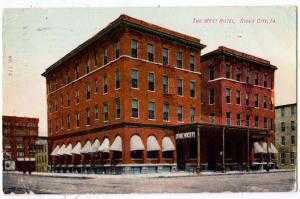 West Hotel, Sioux City Iowa