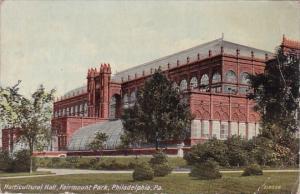 Horticultural Hall Fairmount Park Philadelphia Pennsylvania