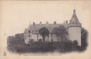 Facade Ouest, Chateau De CHAUMONT-SUR-LOIRE (Loir et Cher), France, 1900-1910s