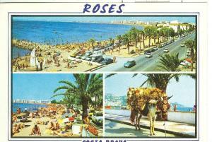 Postal 6163 : Vistas varias de Roses