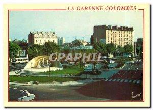 Modern Postcard La Garenne Colombes place Belgium