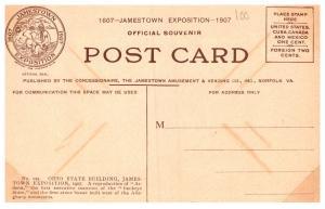 Virginia  Jamestoen Exposition 1907, Ohio State Building