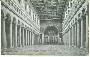 Italy, Roma, Rome, Basilica di S. Paolo, early 1900s unused Postcard