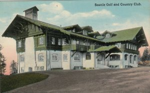SEATTLE , Washington , 00-10s ; Golf & country Club