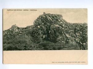 133023 PORTUGAL Castello des Mouros Cintra Vintage postcard