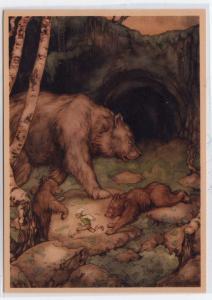 Bears & Elf by Anton Pieck