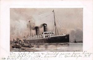 R.M.S.  Campania   Cunard Line