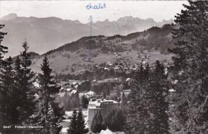 Switzerland Villars Chesieres 1956 Photo