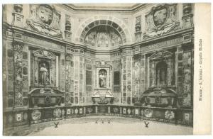 Italy, Firenze, S. Lorenzo, Cappella Medicea, early 1900s unused Postcard