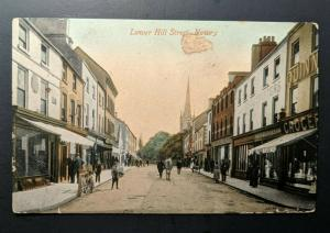 Mint Vintage Lower Hill Street Newry Co Down Ireland Real Picture Postcard