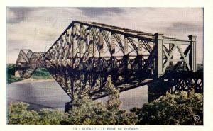 Canada - Quebec, Quebec City. Quebec Bridge