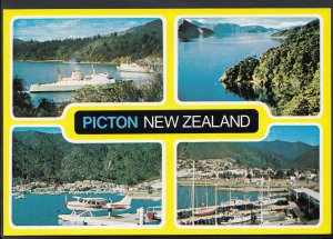 New Zealand Postcard - Views of Picton   LC5597