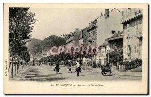 Old Postcard La Bourboule Avenue du Mont Dore