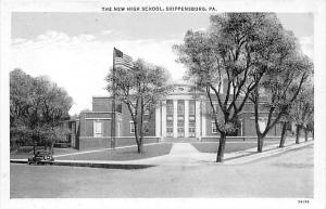 pennsylvania Shippensburg  The New High School
