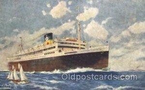 Argentina, Brazil, and Uruguay Moore - McCormack Lines Ocean Liner Ship Unuse...