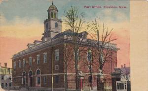 BROCKTON, Massachusetts; Post Office, PU-1913