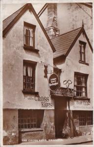 Wales Swansea The Cross Keys 1936 Real Photo
