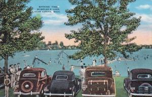 Michigan Bathing Time Wampler's Lake Near Adrian
