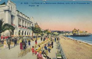 Le Palais De La Mediterranee Et La Promenade Des Anglais, Nice (Alpes Maritim...