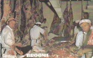 Greetings From Broome Meat Works New South Wales Australia