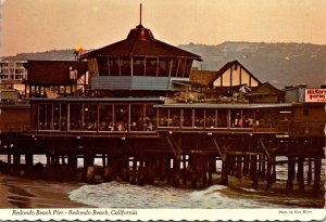 California Redondo Beach The Redondo Beach Pier 1977