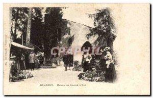 Postcard Old House Domremy Jeanne d & # 39arc