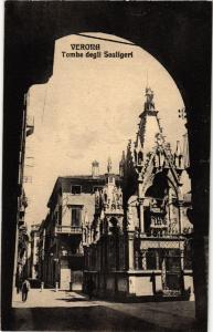 CPA VERONA Tombe degli Scaligeri . ITALY (448517)