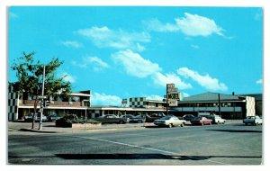 1972 City Center Motel, Corvallis, OR Postcard *6L(2)17