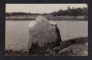 ME Rockport HARBOR MAINE Real Photo Postcard RPPC Postcard