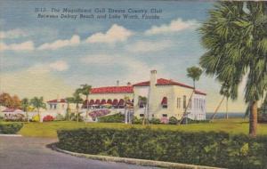 Florida Lake Worth Gulf Stream Country Club Curteich