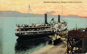Canada Steamer Chippewa Niagara Falls to Toronto 01.79