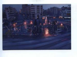 192962 IRAN TEHRAN Ferdowsi steet at night old photo postcard
