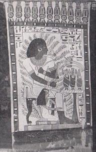 Egypt Luxor Thebes The Gardener Tomb