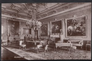 Berkshire Postcard - Ruben's Room, Windsor Castle   DP115