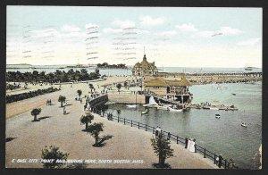 City Point & Marine Park South Boston Massachusetts Used c1907