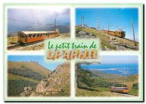 Old Postcard The Little Train of Rhune