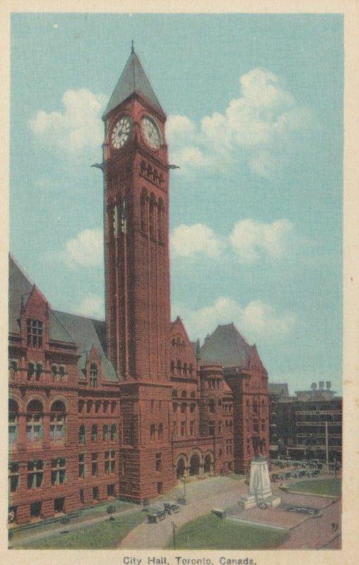 TORONTO, Ontario, 1930s; City Hall