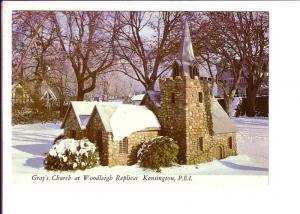 Gray's Church Woodleigh, Kensington Replica Winter Snow, Prince Edward Island,