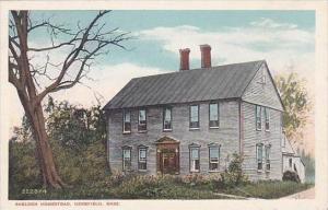Massachusetts Deerfield Sheldon Homestead
