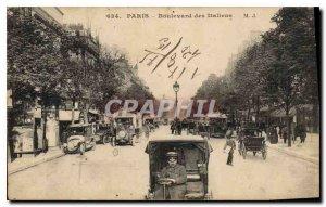 Postcard Old Paris Boulevard of the Italians