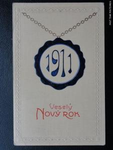 c1910 - Vesely Novy Rok - 1911