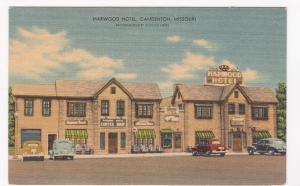 CAMDENTON , Missouri, 1930-1940s ; Harwood Hotel, Coffee Shop