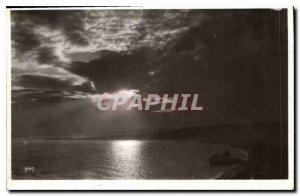 Postcard Old Nice Sunset
