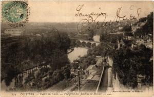 CPA POITIERS - Vallée du Clain - Vue prise des Jardins de Blossac (365676)