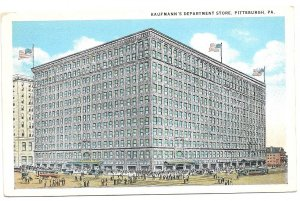 Kaufmann's Department Store, Pittsburgh, PA, Pittsburgh Promotes Progress