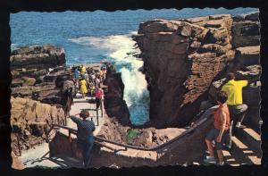 Nice Mt. Desert Island, Maine/ME Postcard, Thunder Hole