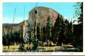 Yellowstone National Park Mount Haynes Madison Canyon Haynes Photo