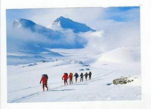 Norge  Norway  Vinterfjellet. Pa skitur Jounheimem, 50-70s