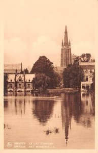 Het Minnewater Bruges Belgium Unused